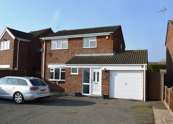 Thumbnail 3 bedroom detached house to rent in Roston Drive, Hinckley