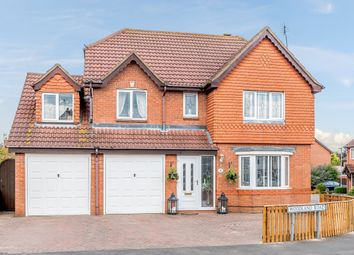 Thumbnail 5 bed detached house for sale in Woodland Road, Hinckley, Leicestershire