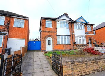 Thumbnail 3 bed semi-detached house for sale in Heyworth Road, Leicester
