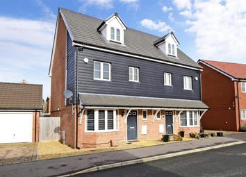 Thumbnail 4 bed town house for sale in Navigation Drive, Arundel, West Sussex