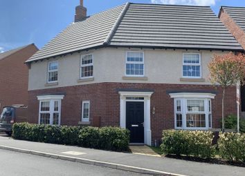 Thumbnail 4 bed detached house for sale in Alfred Belshaw Road, Queniborough, Leicester