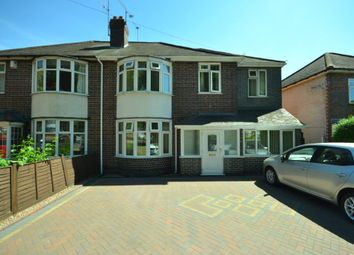 Thumbnail 5 bed semi-detached house for sale in Welford Road, Knighton Fields, Leicester