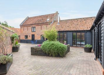Thumbnail 4 bed barn conversion for sale in Brooke Road, Shotesham All Saints, Norwich