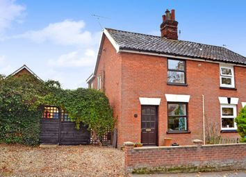 Thumbnail 3 bedroom semi-detached house for sale in Candlers Lane, Redenhall, Harleston