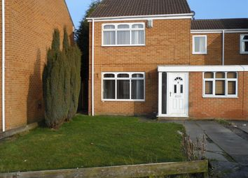 Thumbnail 3 bed semi-detached house to rent in Winchester Way, Bedlington