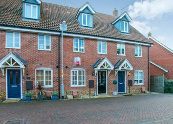 Thumbnail 3 bed terraced house for sale in Consort Road, South Wootton, King's Lynn