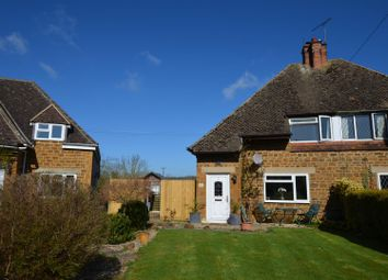 Thumbnail 3 bed semi-detached house for sale in Warmington, Banbury