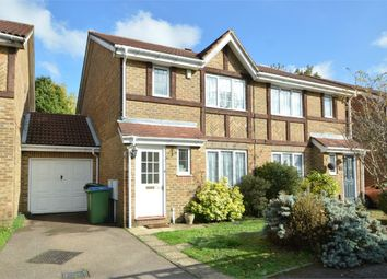 Thumbnail 3 bed terraced house to rent in Danesfield Close, Walton-On-Thames, Surrey