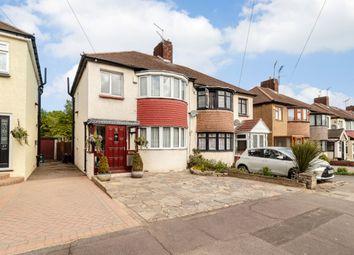 Thumbnail 3 bed semi-detached house for sale in Cheriton Avenue, Ilford, London
