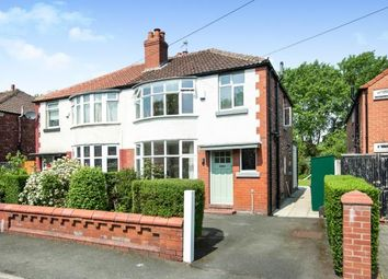 Thumbnail 3 bedroom semi-detached house for sale in Mornington Crescent, Manchester, Greater Manchester, Uk
