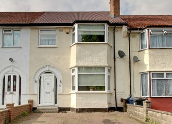 Thumbnail 4 bed terraced house for sale in Cambridge Avenue, Greenford