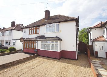 Thumbnail 3 bed semi-detached house for sale in Woodhurst Avenue, Petts Wood, Orpington