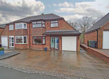 Thumbnail 3 bedroom semi-detached house for sale in Rea Avenue, Rubery, Rednal. Birmingham