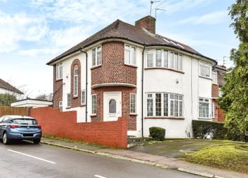 Thumbnail 3 bedroom semi-detached house for sale in Hampden Way, Southgate