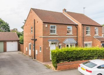 Thumbnail 3 bed semi-detached house to rent in Terrington Court, Strensall, York