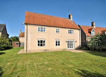 Thumbnail 4 bed detached house for sale in Malthouse Croft, Beachamwell, Swaffham