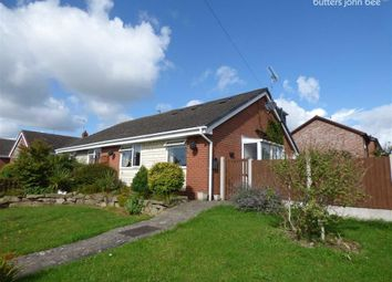 Thumbnail 3 bed semi-detached bungalow for sale in Coombe Park Road, Stone, Staffordshire