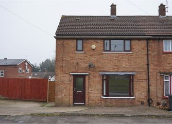 Thumbnail 3 bedroom end terrace house to rent in Hallwicks Road, Luton