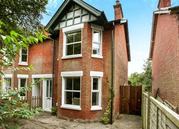 Thumbnail 2 bed semi-detached house for sale in Station Road, Sandleheath, Fordingbridge