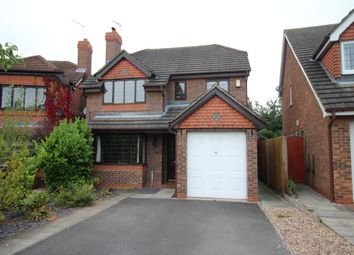 Thumbnail 4 bed detached house to rent in Skiddaw Close, West Bridgford, Nottingham