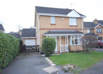 Thumbnail 3 bed detached house for sale in Enfield Close, Hilton, Derby