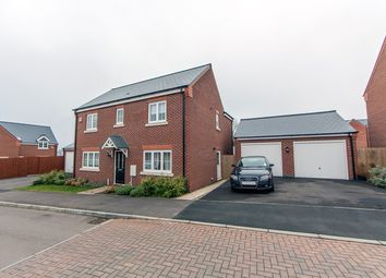 Thumbnail 4 bedroom detached house for sale in Long Meadow Way, Leicester