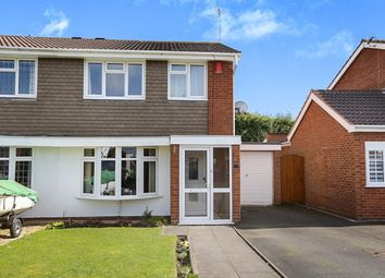 Thumbnail 3 bedroom semi-detached house for sale in Levington Close, Perton, Wolverhampton