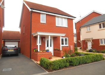 Thumbnail 3 bed detached house to rent in Mayfield Way, Cranbrook, Exeter