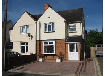 Thumbnail 4 bed semi-detached house for sale in Percy Street, Stratford-Upon-Avon