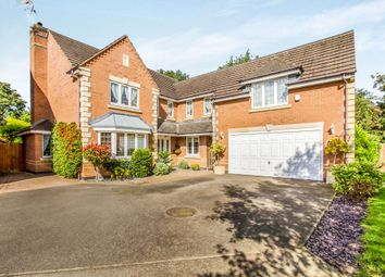 Thumbnail 5 bedroom detached house for sale in Troon Way, Burbage, Hinckley