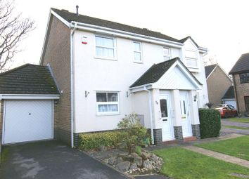 Thumbnail 2 bed semi-detached house for sale in Hadrian Way, Corfe Mullen, Wimborne