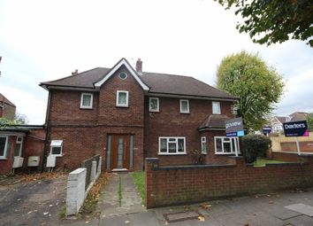 Thumbnail 3 bed flat to rent in Denbigh Road, London