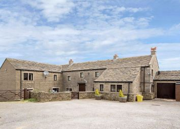 Thumbnail 5 bed detached house for sale in Hill Top Farm, Weather Hill Lane, Holmfirth