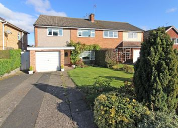 Thumbnail 3 bed semi-detached house for sale in Highlands Road, Bridgnorth