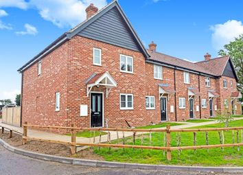 Thumbnail 3 bed end terrace house for sale in Pastures Loke, North Tuddenham, Dereham