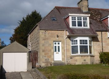 Thumbnail 3 bed semi-detached house for sale in Wards Road, Elgin