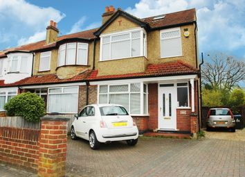 Thumbnail 4 bed end terrace house for sale in Red Lion Road, Tolworth, Surbiton