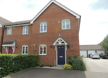 Thumbnail 3 bed semi-detached house for sale in Otter Close, Downham Market
