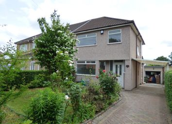 Thumbnail 3 bed semi-detached house to rent in Rossall Avenue, Little Stoke, Bristol