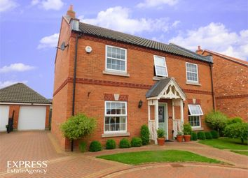 Thumbnail 4 bed detached house for sale in Hawthorn Croft, Misterton, Doncaster, South Yorkshire