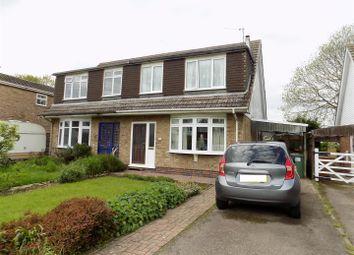 Thumbnail 3 bed semi-detached house for sale in Bowbridge Gardens, Bottesford, Nottingham