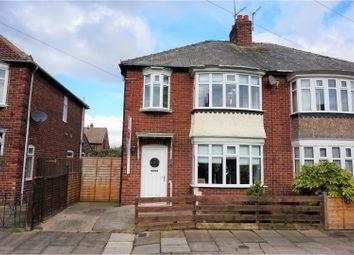 Thumbnail 3 bed semi-detached house for sale in Ravenscroft Avenue, Linthorpe, Middlesbrough