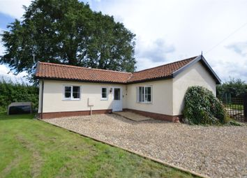 Thumbnail 2 bedroom detached bungalow for sale in Stow Bedon, Attleborough