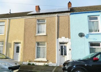 Thumbnail 2 bed terraced house for sale in Vincent Street, Swansea
