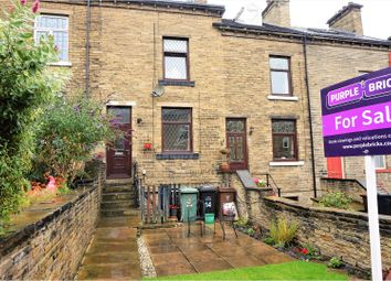 Thumbnail 3 bed terraced house for sale in Belmont Crescent, Shipley