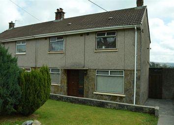 Thumbnail 3 bed semi-detached house for sale in Heol Llwyn Bedw, Swansea