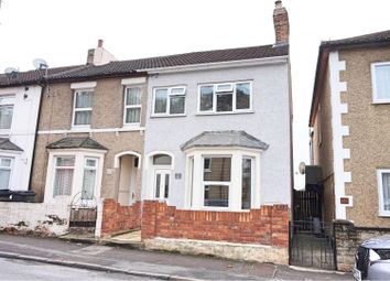 Thumbnail 3 bedroom end terrace house for sale in Clifton Street, Swindon
