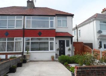 Thumbnail 3 bed semi-detached house for sale in Buckley Crescent, Cleveleys