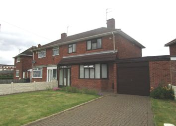 Thumbnail 3 bed semi-detached house for sale in Ashfield Road, Fordhouses, Wolverhampton