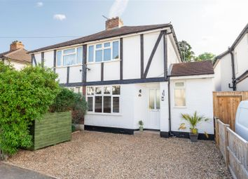 3 bed semi-detached house for sale in Burwood Close, Hersham, Walton-On-Thames KT12